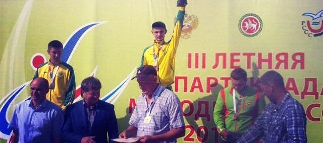 Землин А. и Карпенко П. разделили 1 и 2 призовые места на III летней спартакиаде молодежи России