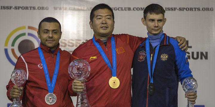 Александр Землин завоевал «бронзу» на финале Кубка мира